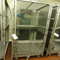 Primate Products Primate Cage with Glass Front Door