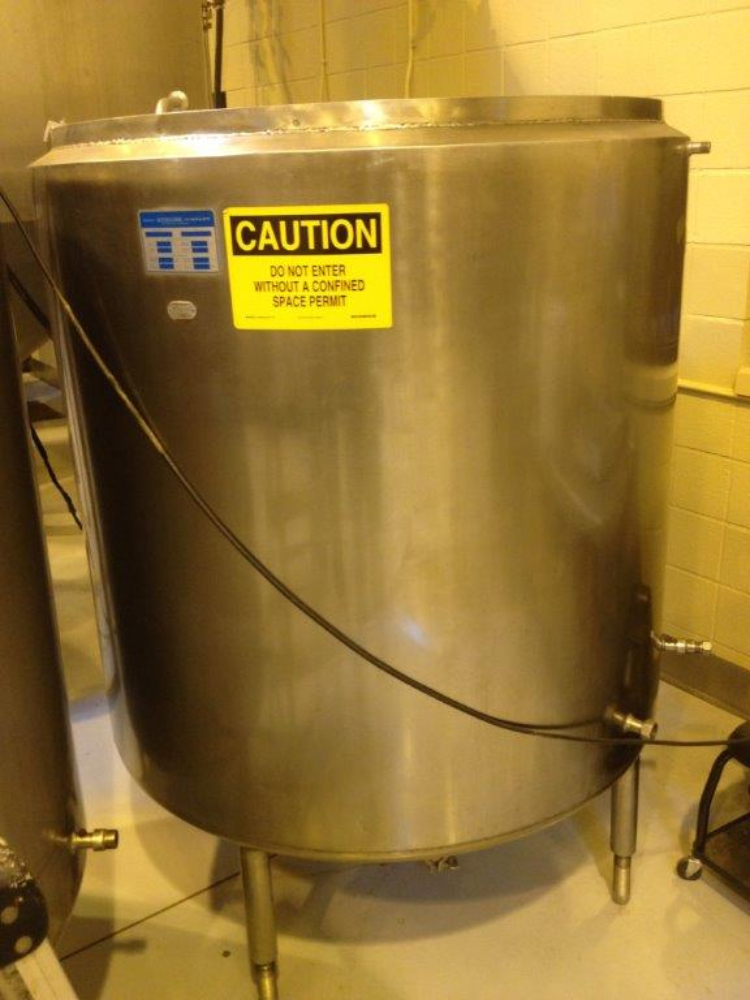 Mueller 350 gallon Jacketed Tank