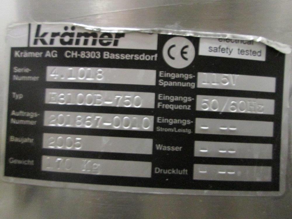 Kramer E3100B Tablet Deduster Controller