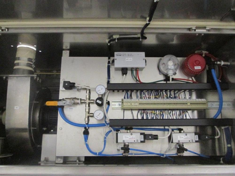 Glatt Vertical Granulator FM-VG-25 in Howorth Isolator