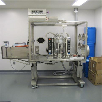 Fluid Air R&D Scale 2 Fluid Bed Dryer in Isolation Chamber