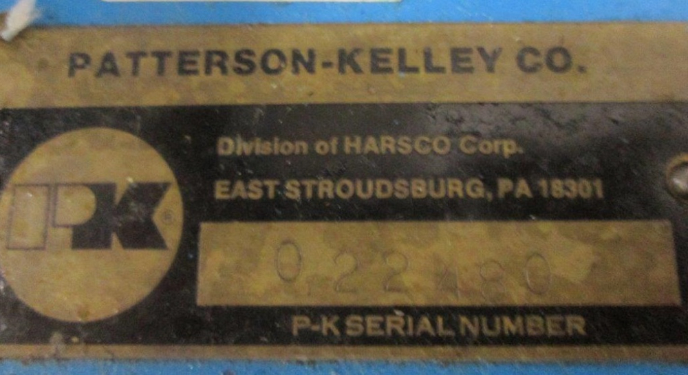 Patterson Kelley 5 Cubic Ft. Vacuum Processor