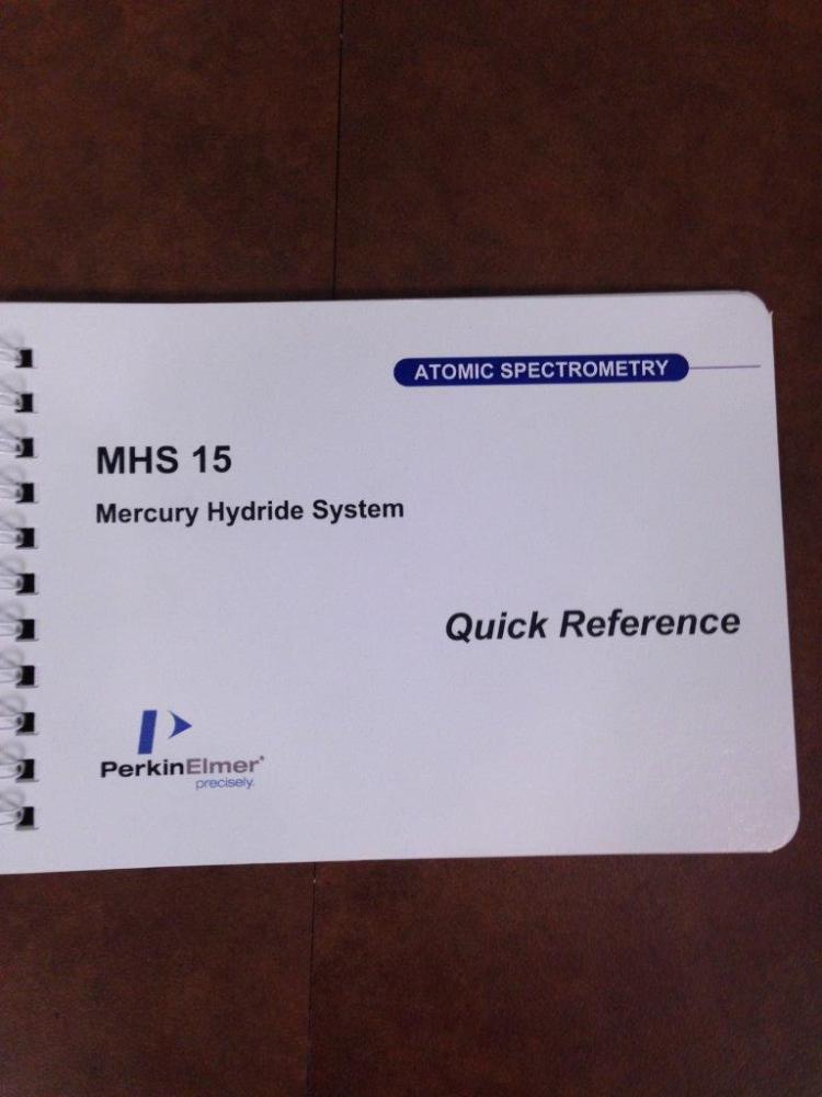 Perkin Elmer MHS-15 Mercury Hydride System