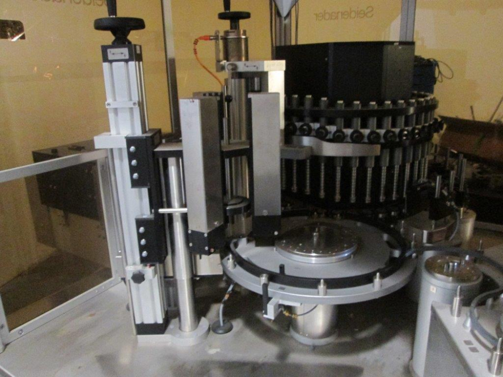 Seidenader LI-40 Automatic Vial Inspection Machine