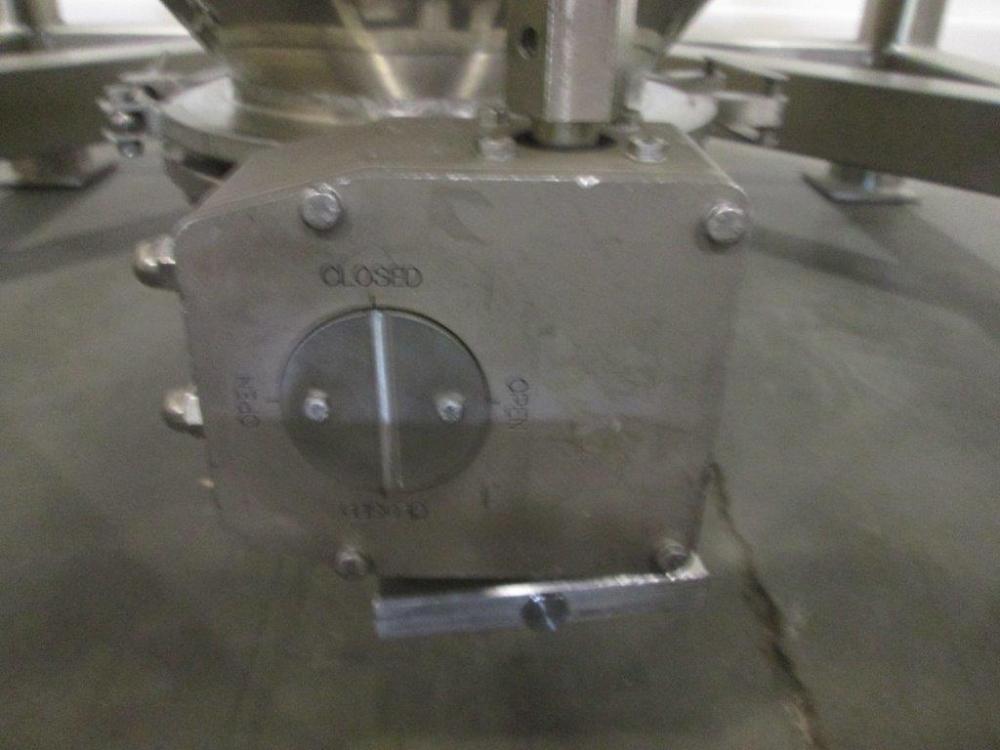 Zanchetta 1000 Liter Stainless Steel Tote