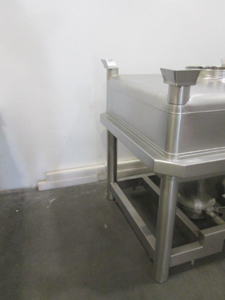 Glatt 15 cubic Foot Stainless Steel Totes