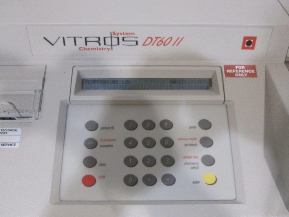 Johnson and Johnson Vitros DT60II Chemistry System