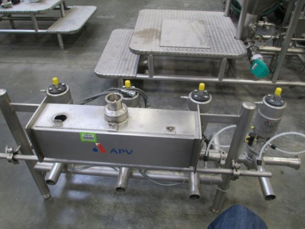 APV Pressure Regulation Skid