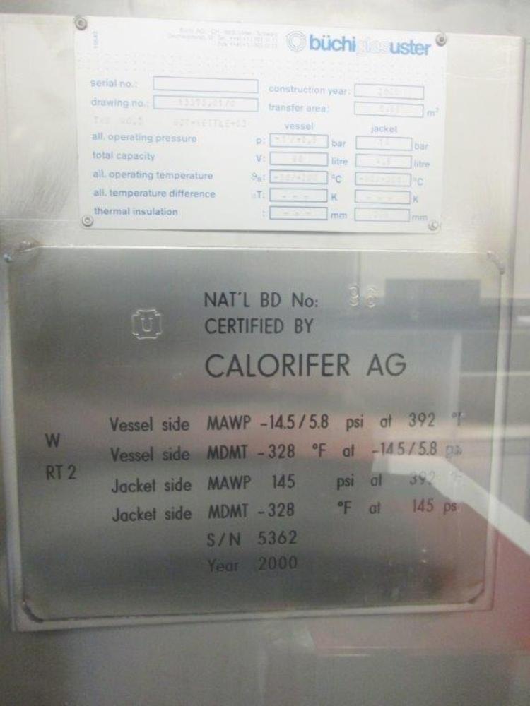Buchiglasuster 15L and 60L Distillation Plant