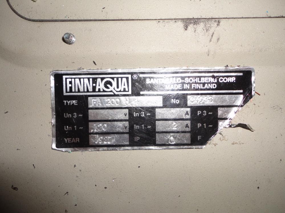 Finn Aqua Multi Effect WFI Steam Generator