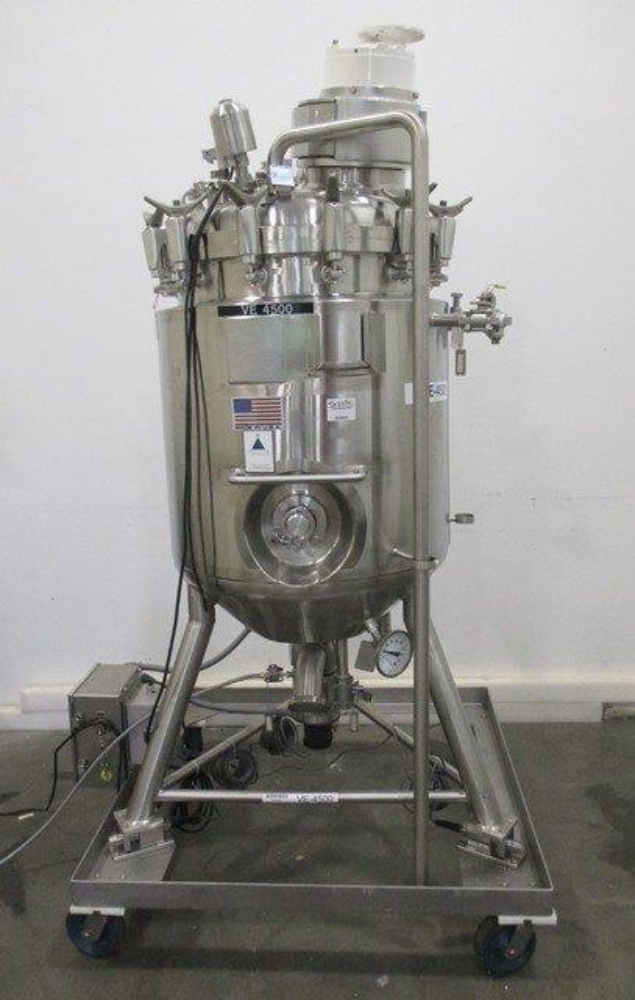 Precision Stainless 250L Portable Mixing Vessel