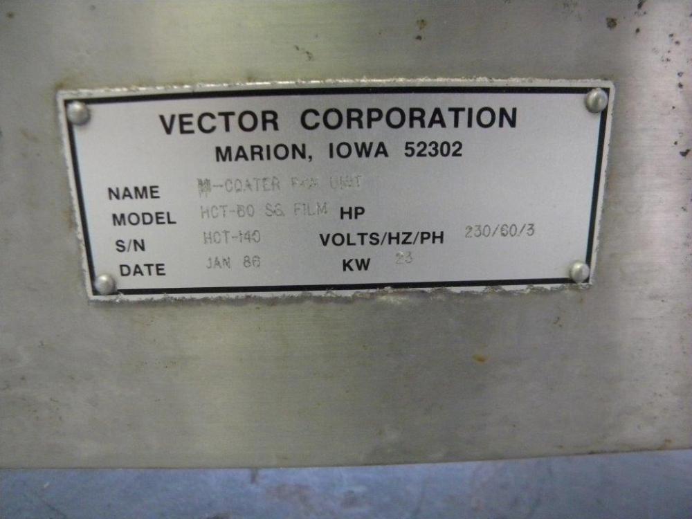 Vector HTC 60 Coating Pan