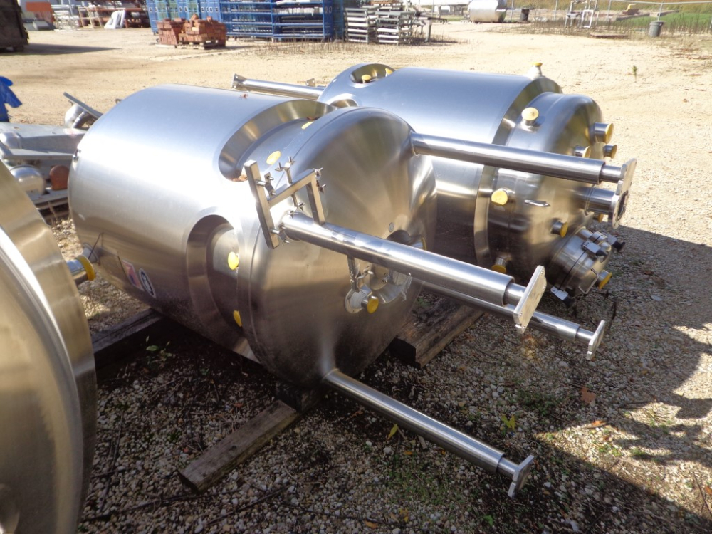 T&C Stainless 600 Liter Reactor, Unused