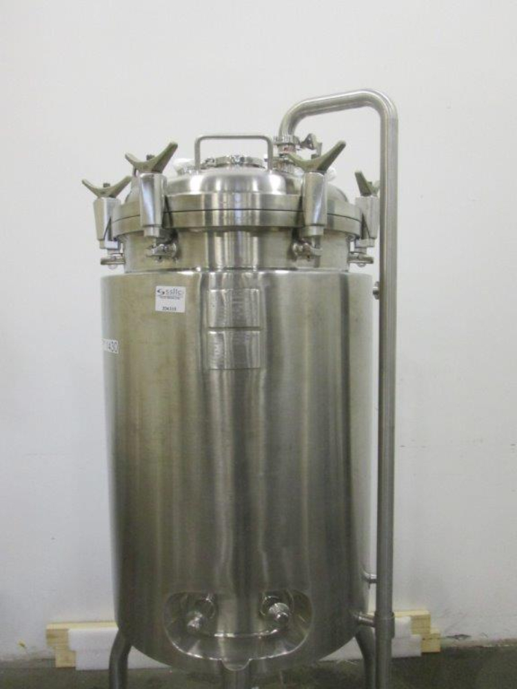 Allegheny Bradford 250L Jacketed Vessel