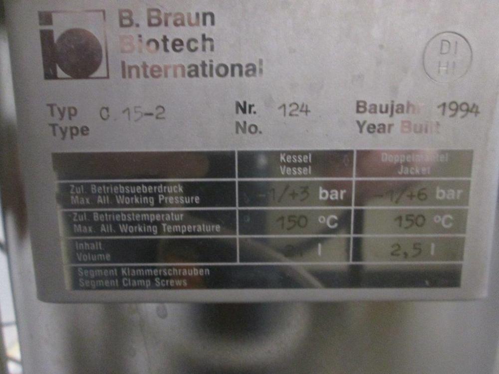 B. Braun Biostat C Bioreactor