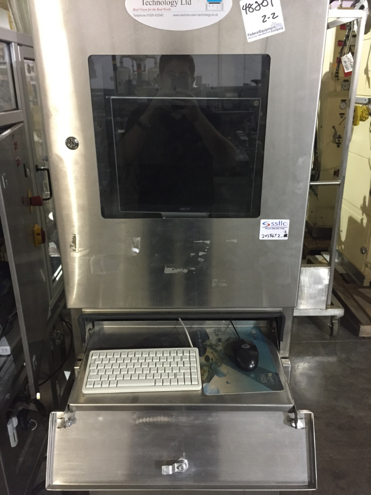 Machine Vision Tech Tablet Inspection Machine