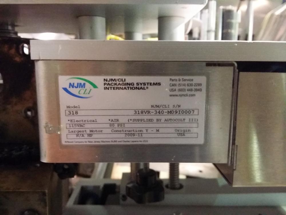 NJM 318 Labeler