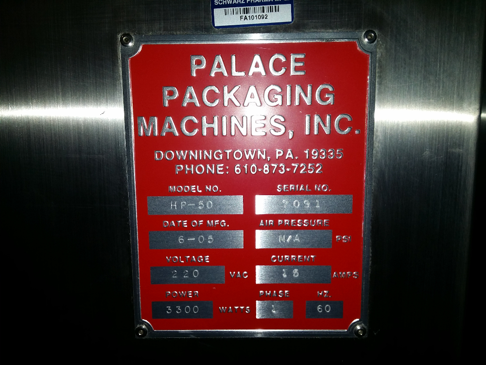 Palace HP50 Bottle Vacuum Transfer System