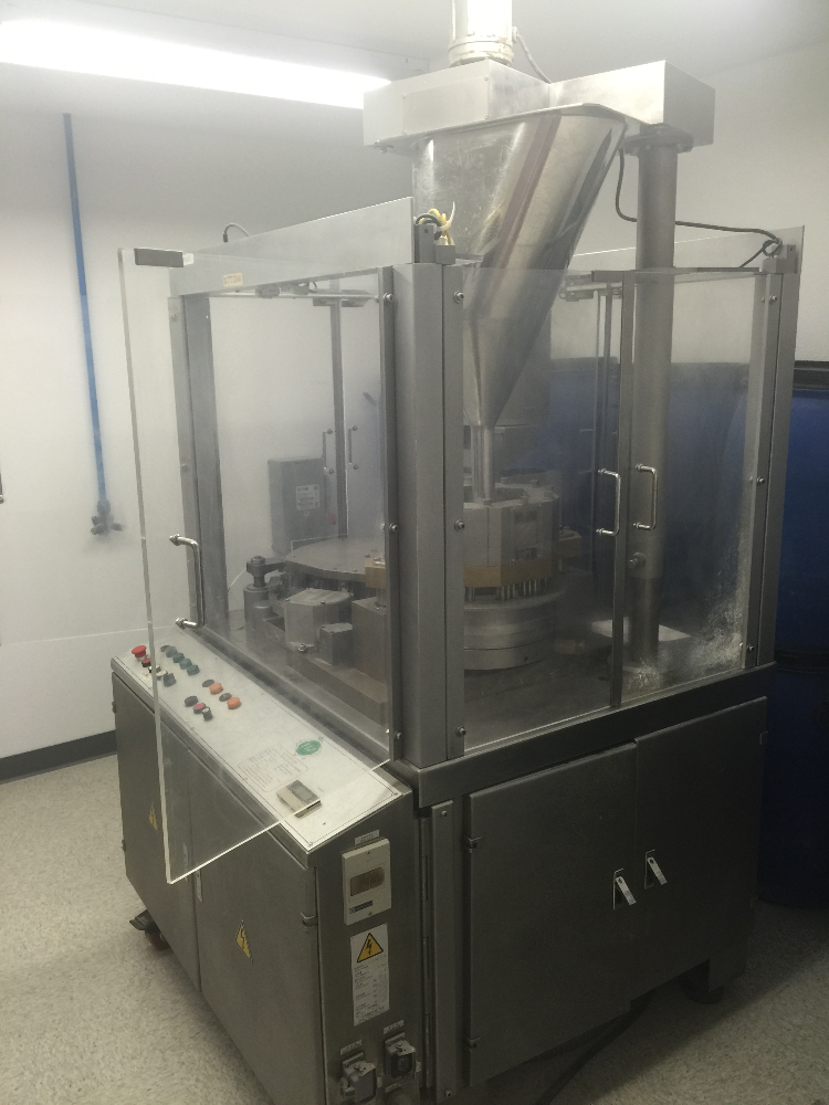 TES ZJT1500 Automatic Capsule Filling Machine
