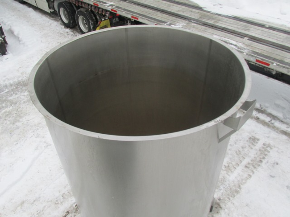Perma-San 2000 Gallon Stainless Steel Tank