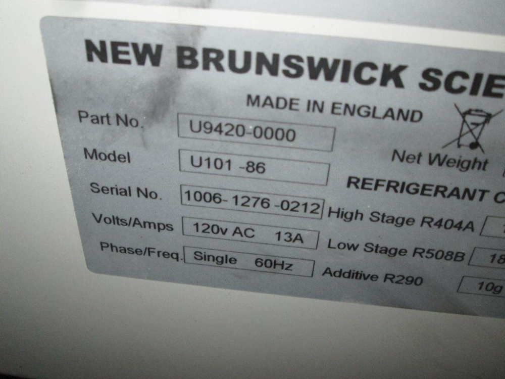 New Brunswick U101-86 Freezer
