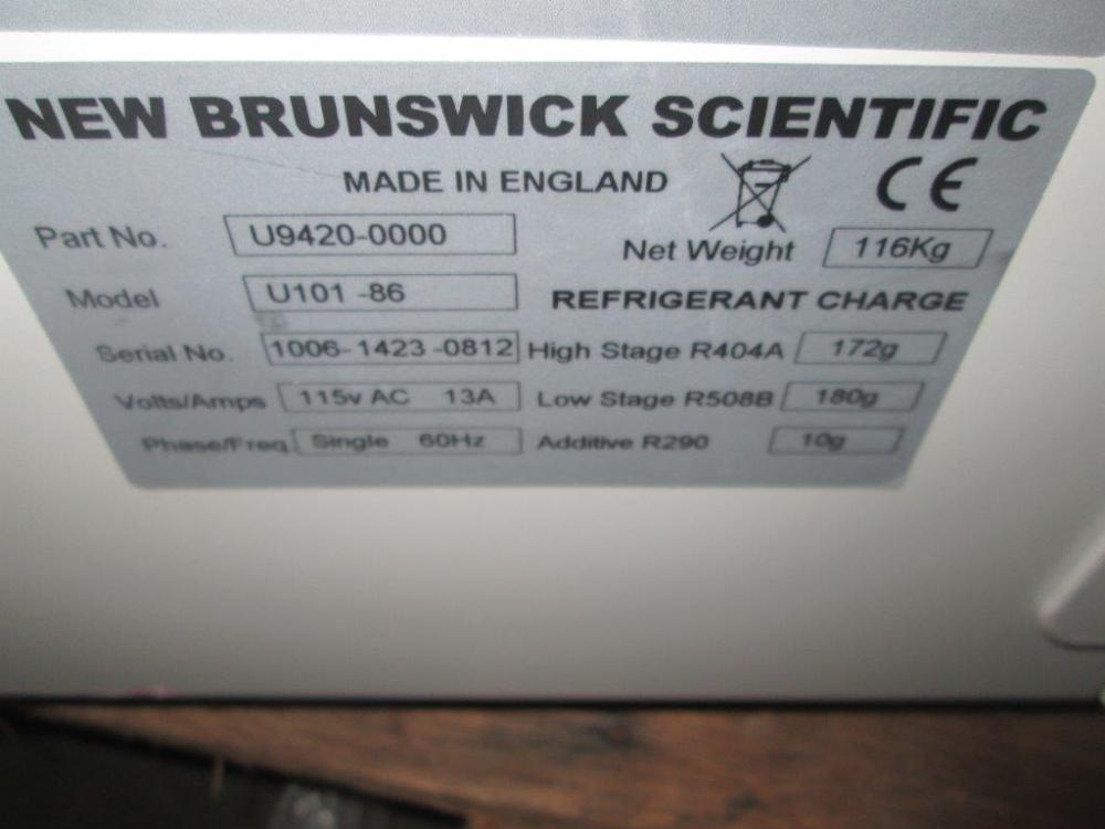 New Brunswick U101-86 Freezer
