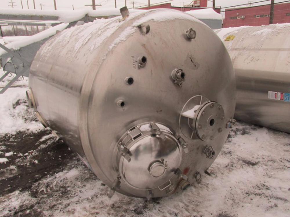 DCI 6000L Pressure Vessel