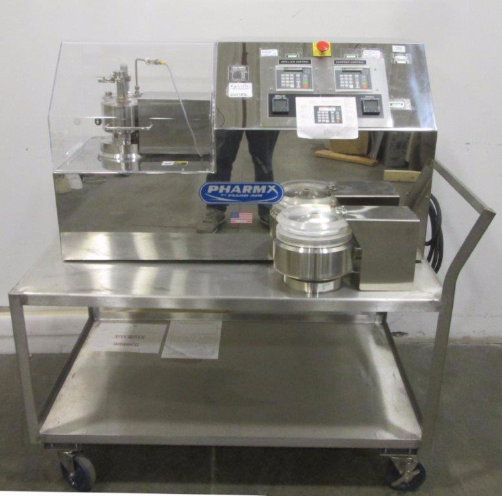 Fluid Air Pharmx PX1 Mixer Granulator