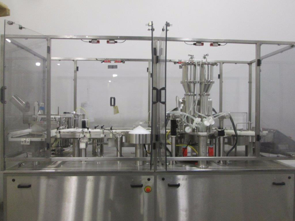M&O Perry Vial Filler for Liquids and Powders