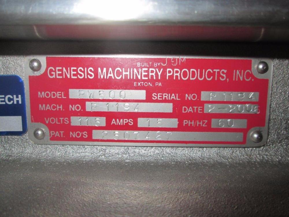 Genesis PW-500 West Capper