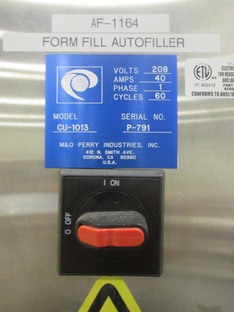 M&O Perry Vial Filler for Liquids and Powders