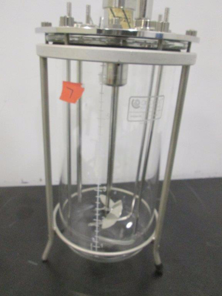 Applikon 7L Glass Bioreactor Vessel