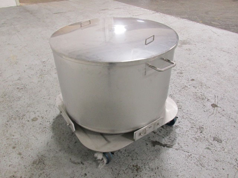 Tote Systems 100 Gallon Stainless Steel Tank