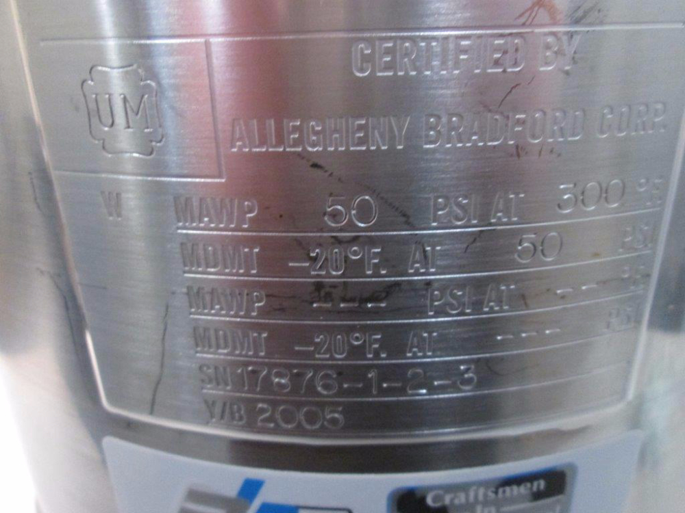 Allegheny Bradford 10L Carboy