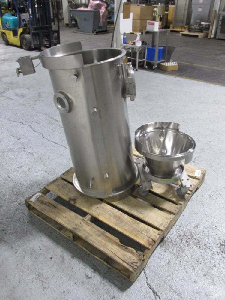 Glatt GPCG5 Bowl and Expansion Chamber