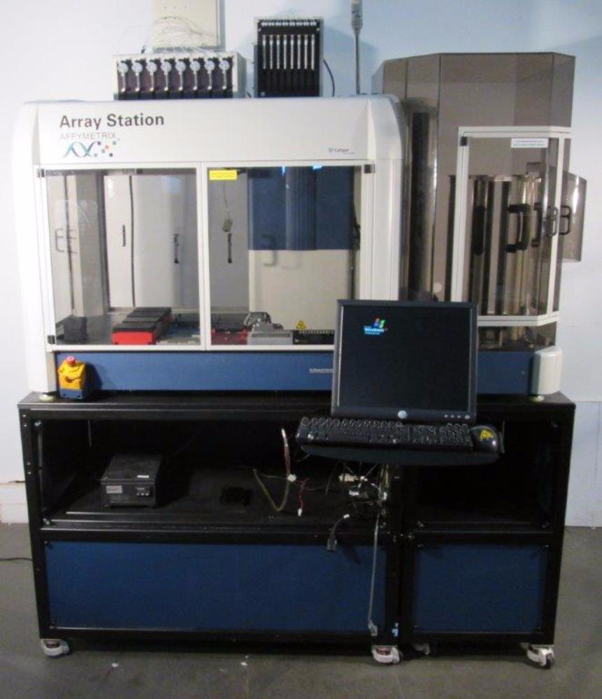 Affymetrix Array Station, Caliper Life Sciences SciClone ALH 3000 Liquid Handler