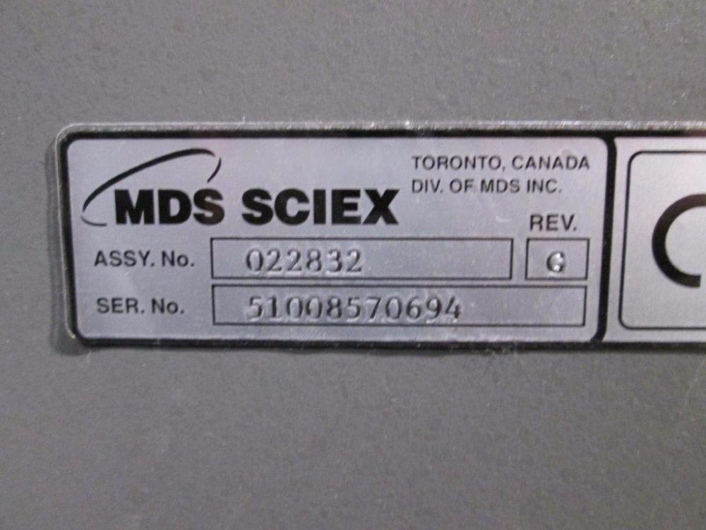 MDS Sciex Qstar XL MS/MS System
