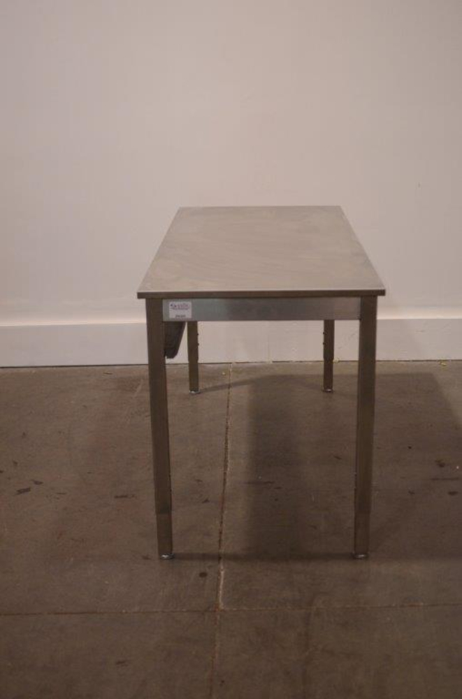 6' Stainless Steel Table