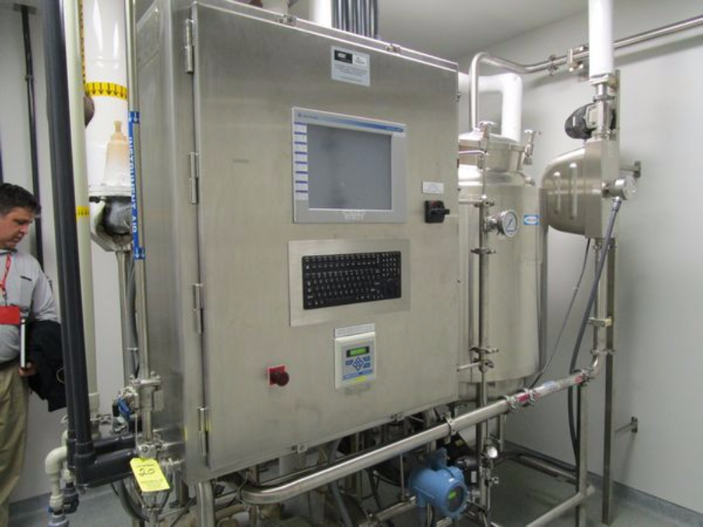 ESC Entegris Automated Clean In Place System