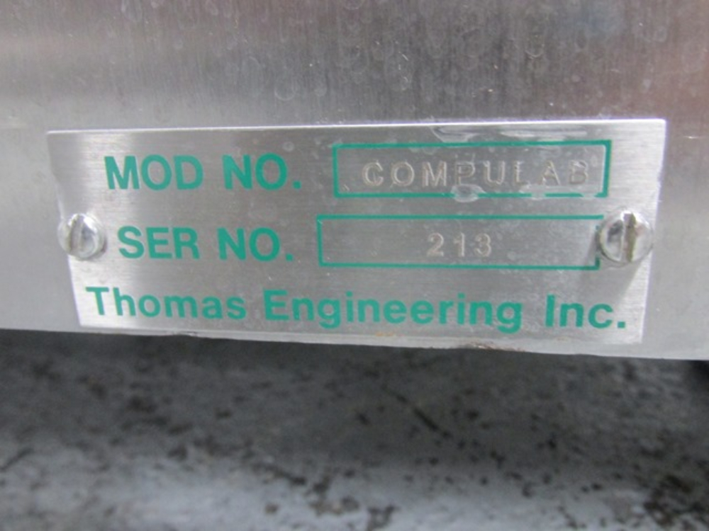 "Thomas 24"" Compulab Coating Pan"
