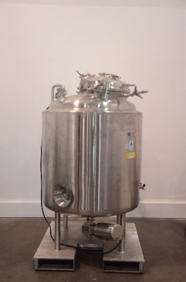 Precision Stainless Jacketed Tank