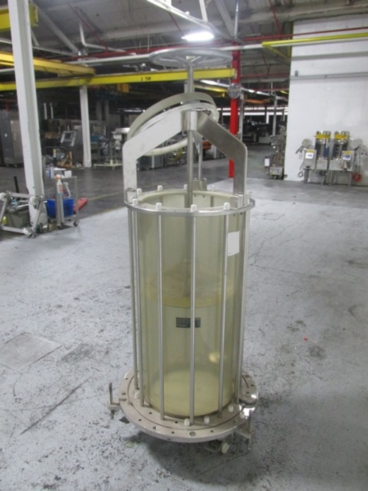 E Merck Darmstadt Superformance 1000-450 Chromatography Column