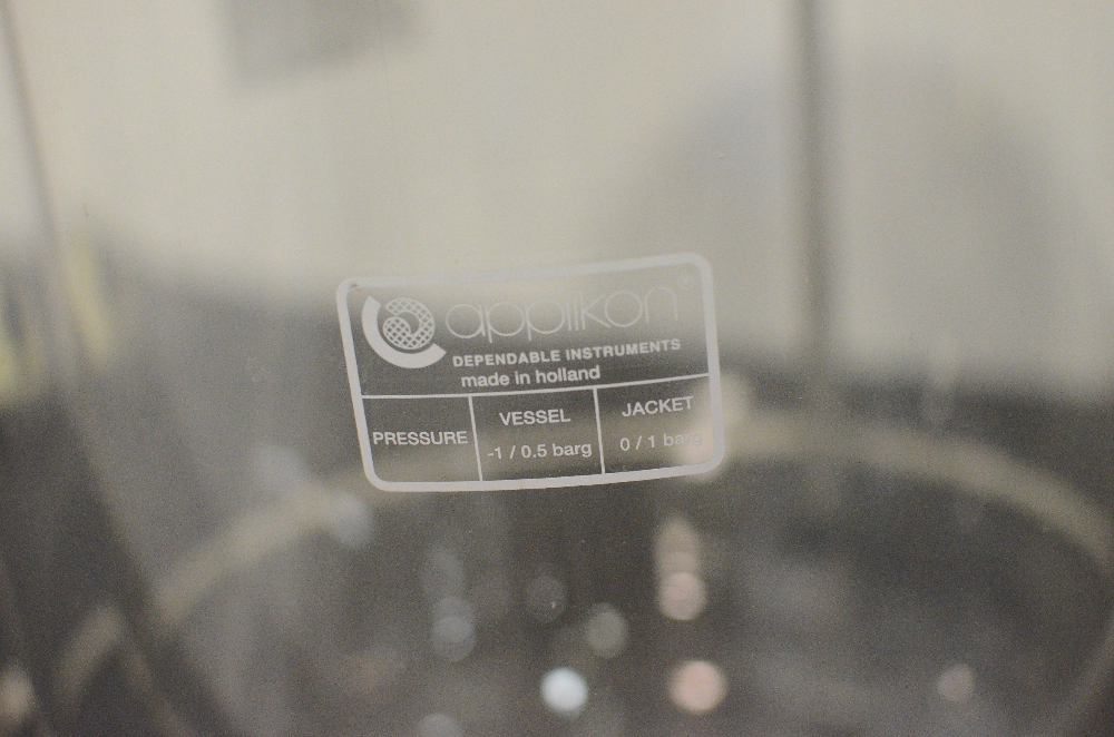 Applikon 15 Liter Bioreactor Glass Vessel