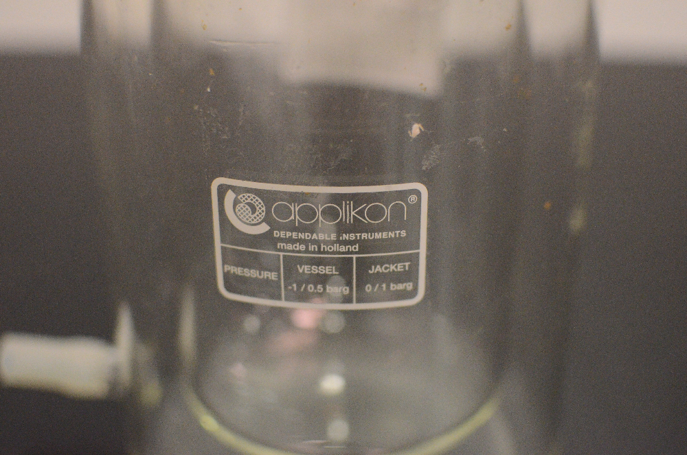 Applikon 2 Liter Bioreactor Glass Vessel