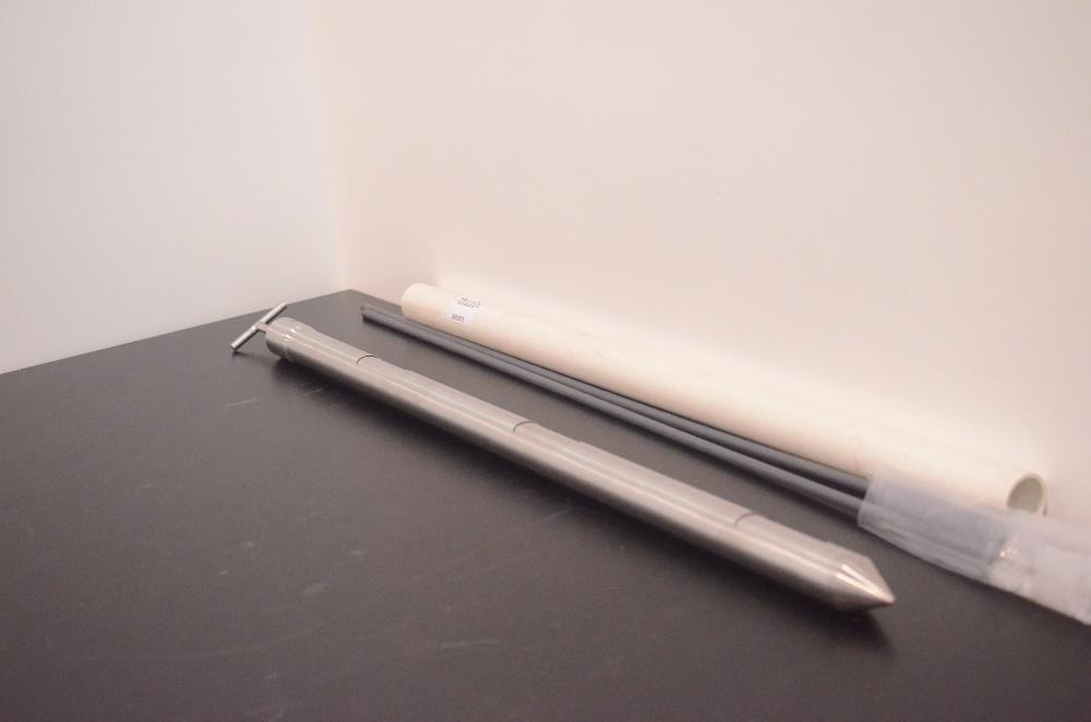 Lab VIB Bulk Powder Sampler with 2 brushes