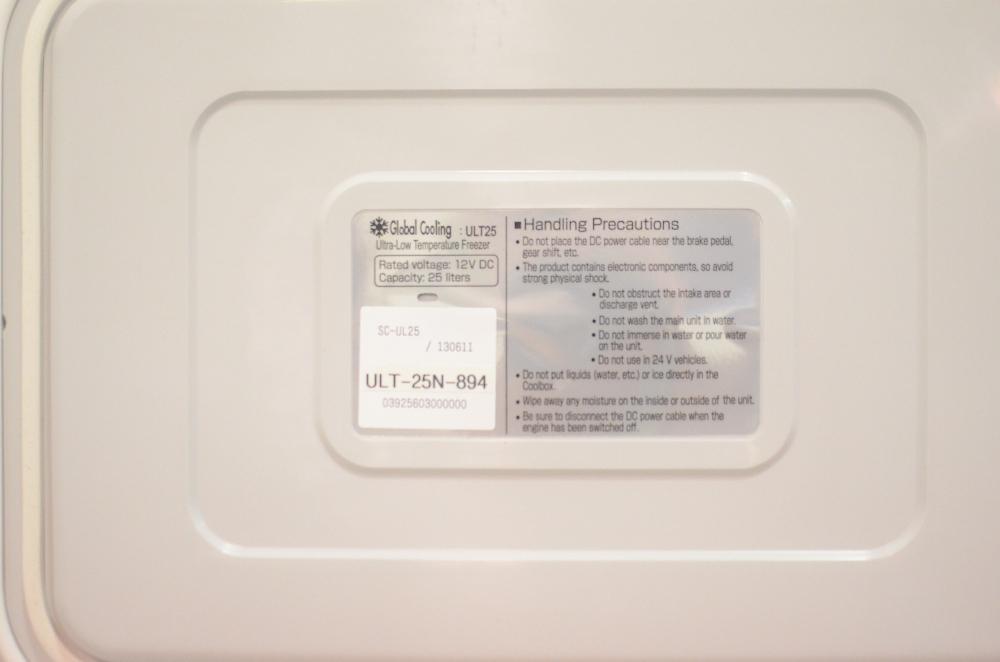 Stirling Ultracold Shuttle ULT-25N Portable Freezer
