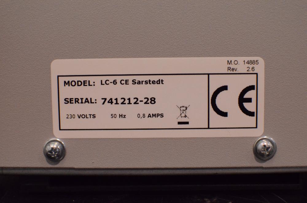 Sarstedt LC 6 Centrifuge