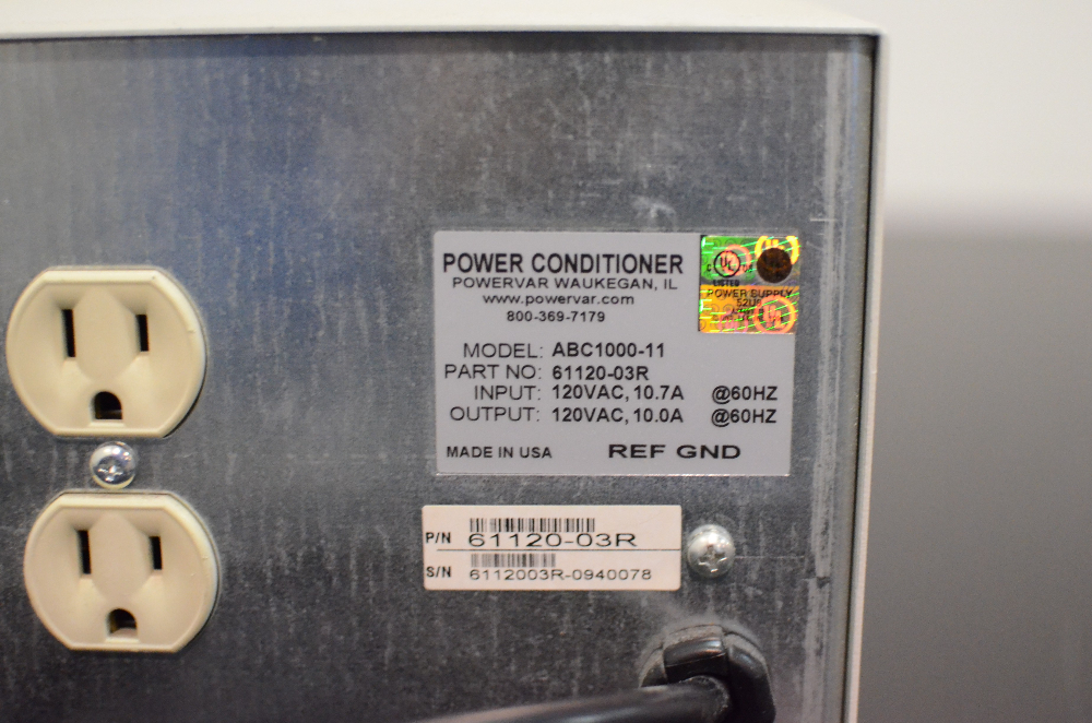 PowerVar 10 ABC 1000-11 Power Conditioner