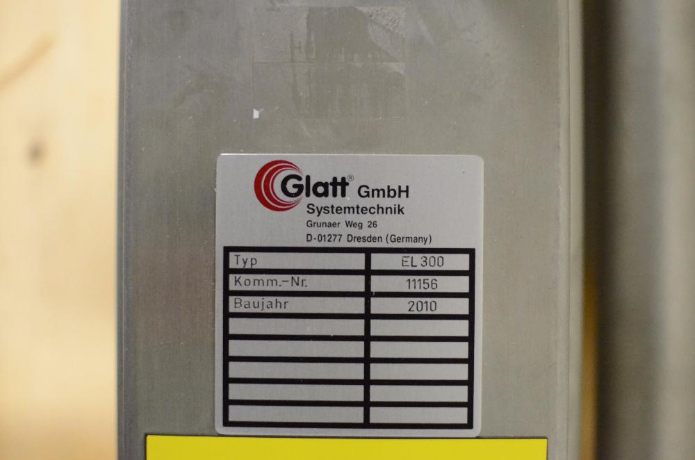 Glatt EL300 Mixing Device