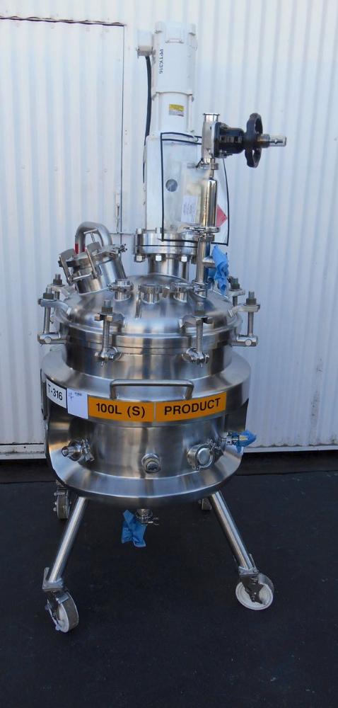 100 liter Precision Reactor w/ Mixer